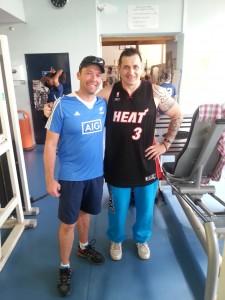 coach musculation avec l entraineur des black ferns l equipe feminine de    rugby de nouvelle Zelande
